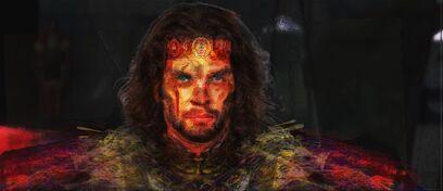 Lord Thrull Khonn First Lord of Lions FINAL Lion-Man War Paint