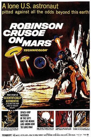 Robinson crusoe on mars movie poster