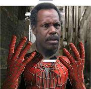 Danny Glover as Spider-Man FotoFlexer Photo