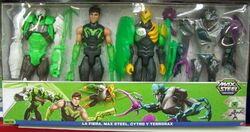 La Fiera, Max Steel, Cytro e Snare