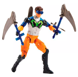 Double Spear Max Steel action pose