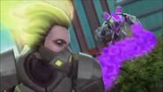 Max Steel Reboot Toxzon Toxic Bacteria and Toxziana