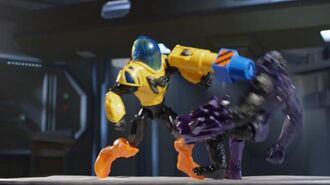 """Max Steel Spring 2016 """"Hammer Claw Max vs Ape Extroyer"""""""