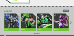 Updated max steel site 3