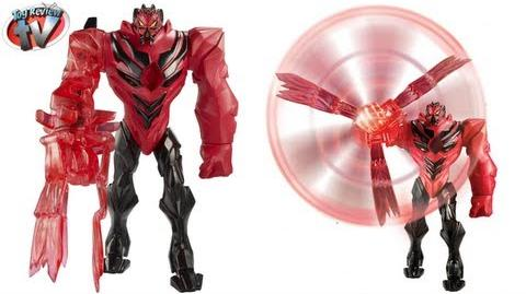 Max Steel Blade Attack Dredd Action Figure Toy Review, Mattel