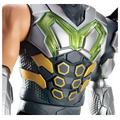 Max Steel chest closeup