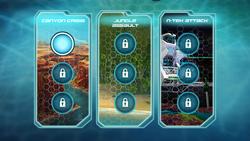Turbo Tactics's Levels