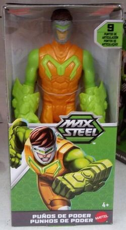 Power Fists Max Steel