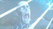 Mortum mutates into a robot zombie