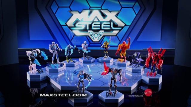 Max Steel- Tur-bow Strike Max vs Claw Blast Dredd-HD