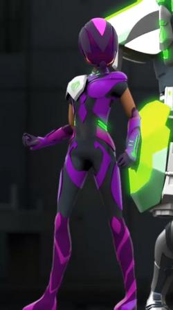 Tempestra Green T.U.R.B.O. Armor