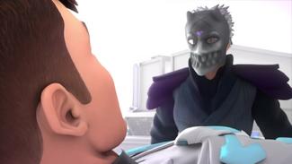 Terrorax's Human form