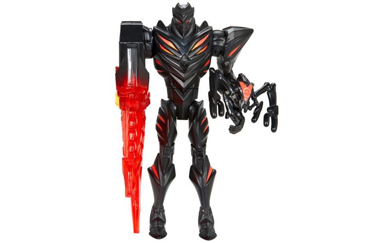 Max steel claw blast dredd figurine
