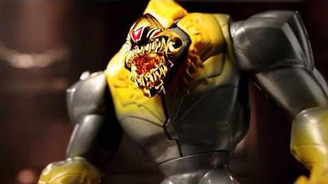 Elementor Oro y Max Steel Espinas Giratorias