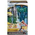 Mech Armor Max Steel action figure