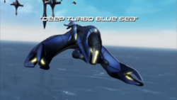 Deep Turbo Blue Sea title card