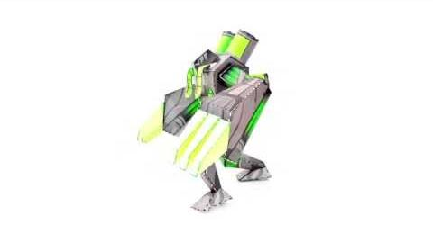 Max Steel How To Build a Toxzon Paper Constructable