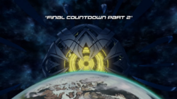The Final Countdown Part Two title card