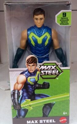 Max Steel 6 inch action figure