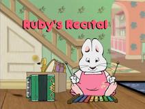 Max & Ruby Grandma's Treasure Hunt Ruby's Jigsaw Puzzle Ruby's Recital - Ep.42 15-34 screenshot