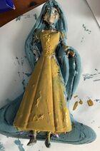 Blue-haired Rapunzel