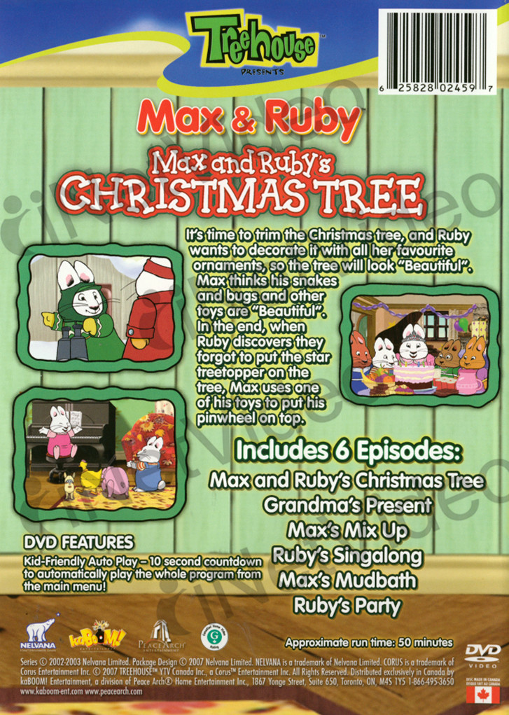 Max And Ruby S Christmas Tree Max Amp Ruby Wiki Fandom