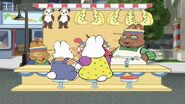 Max and Ruby behind