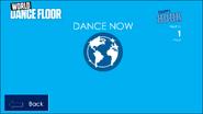 World Dance Floor menu