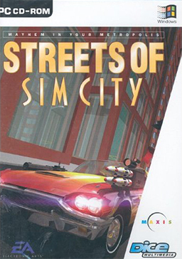 Streets of SimCity Coverart