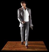 Max Payne Statue