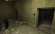 Жилой комплекс Люпино туалет на втором этаже