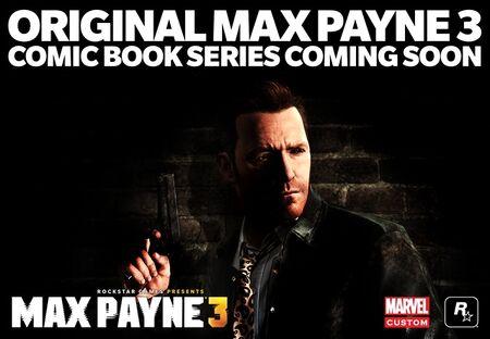 Max Payne Comic Ad