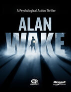 Alan Wake Game Cover