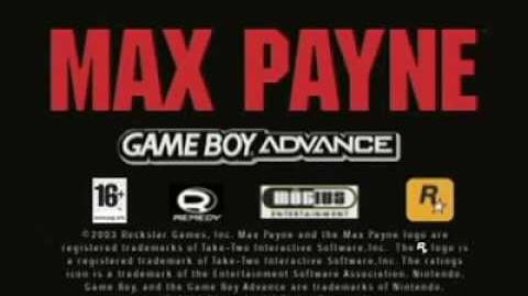 Max Payne Game Boy Advance Official Trailer