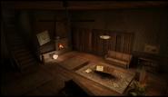 Payne residence living room
