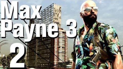 Max Payne 3 Walkthrough Part 2 - Chapter 1 No Commentary HD Xbox 360