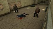 Убитый транзитный полицейский