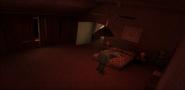 Payne residence bedroom