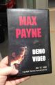 Видеокассета с демо-видео Max Payne