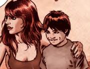 Макс в детстве с мамой
