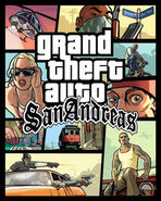 GTA San Andreas Game Cover