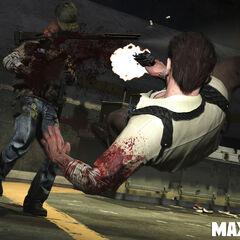 Un guardia que está manejando la escopeta es asesinado.