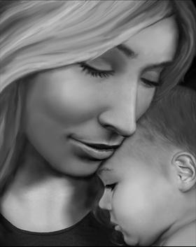 Michelle Payne e hija