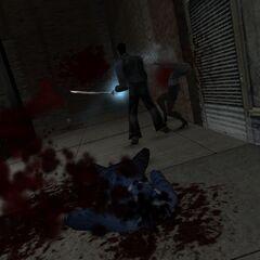 ¡Mucha, mucha sangre!