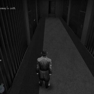 En la cárcel.