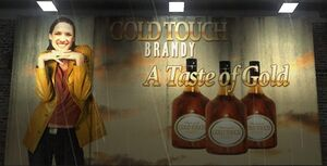 Gold Touch Brandy Billboard