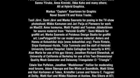 Max Payne 2 Créditos