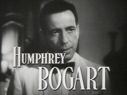 Humphrey Bogart en Casablanca