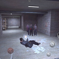 Interfaz de Max Payne Mobile.