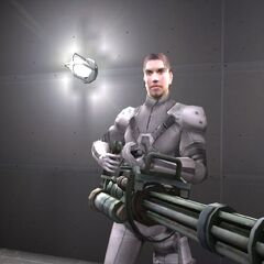 La siempre útil Gatling Gun.